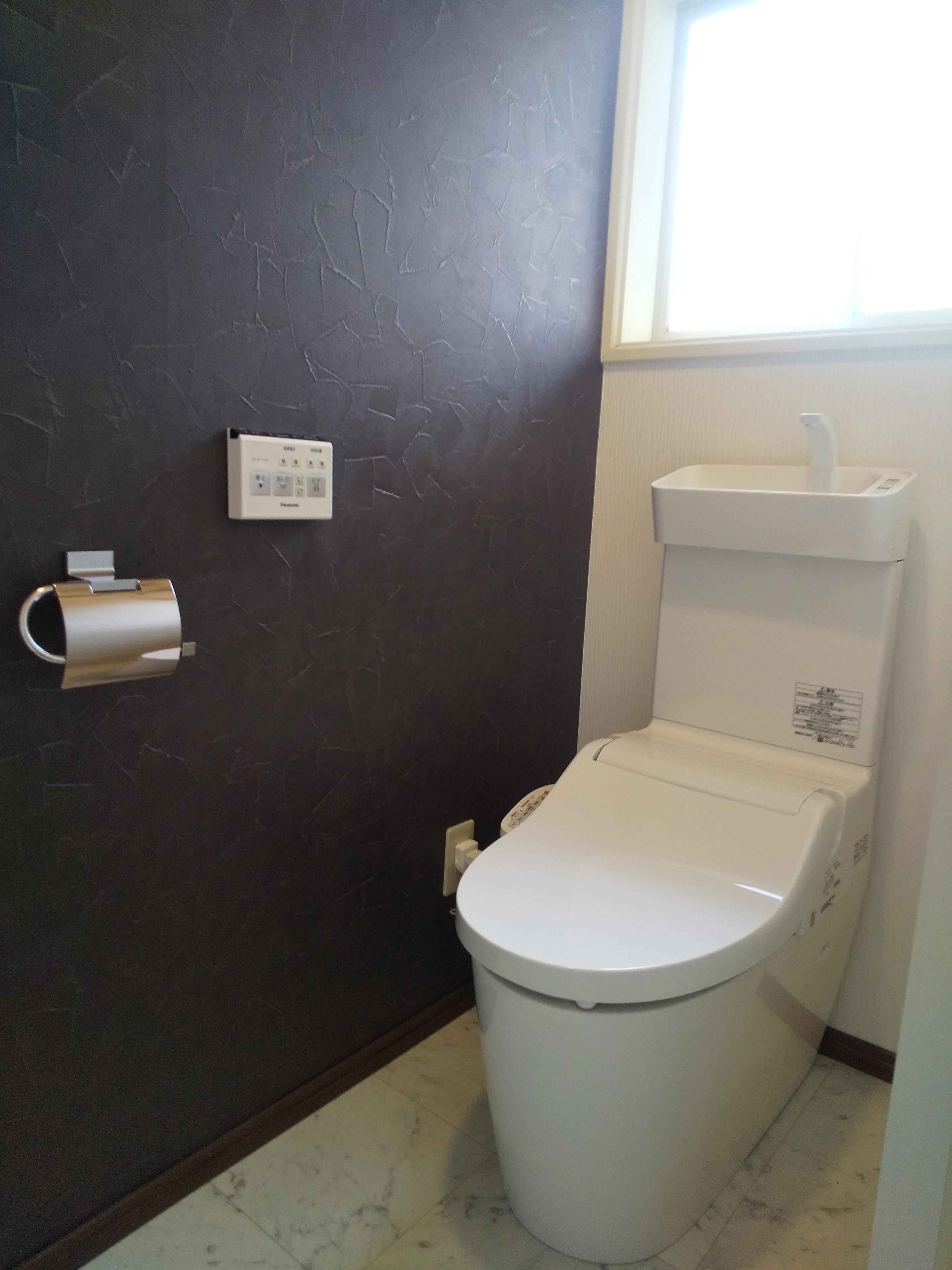トイレ完成 便器入れ替え