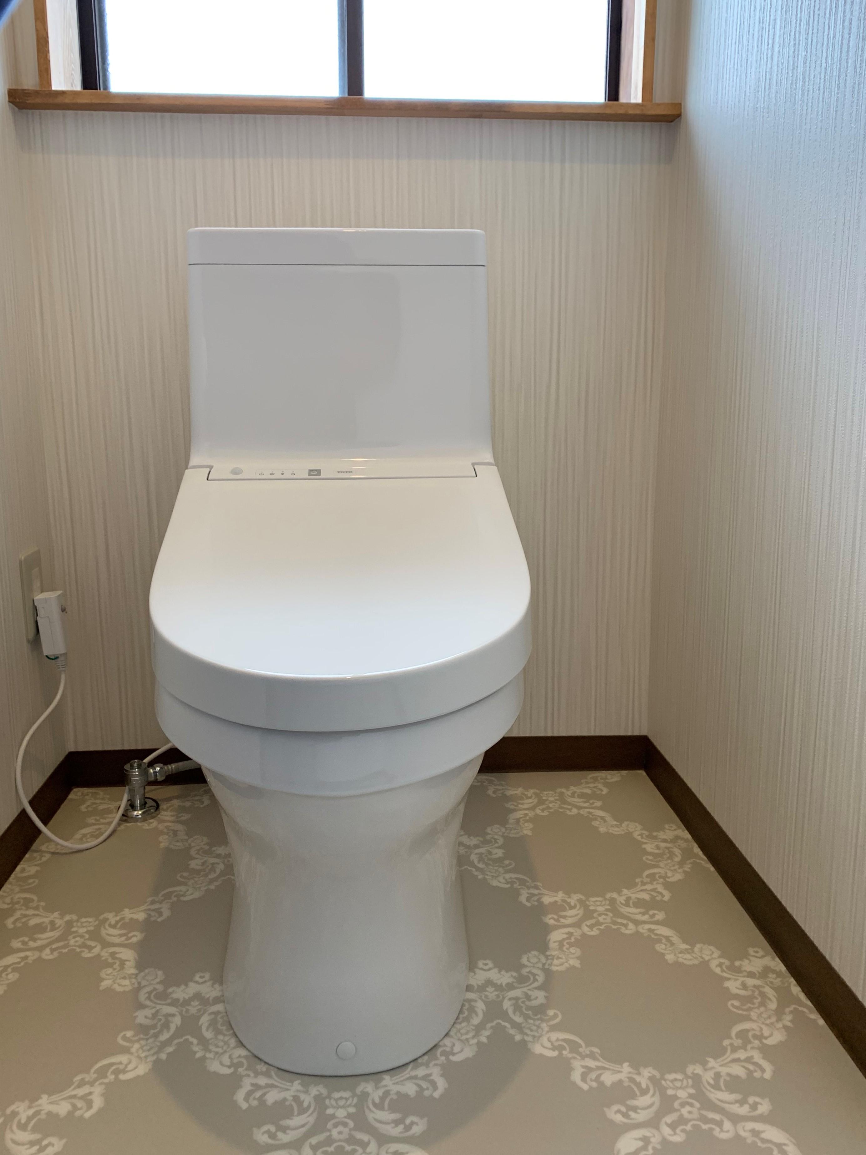 完成 トイレ