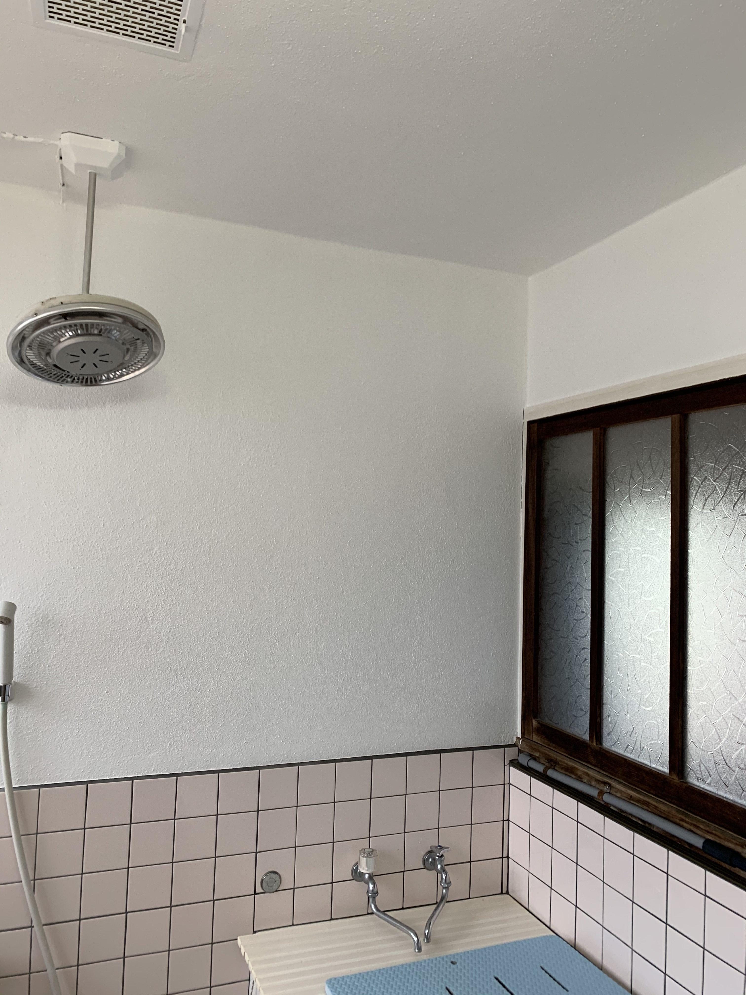 浴室塗装完成
