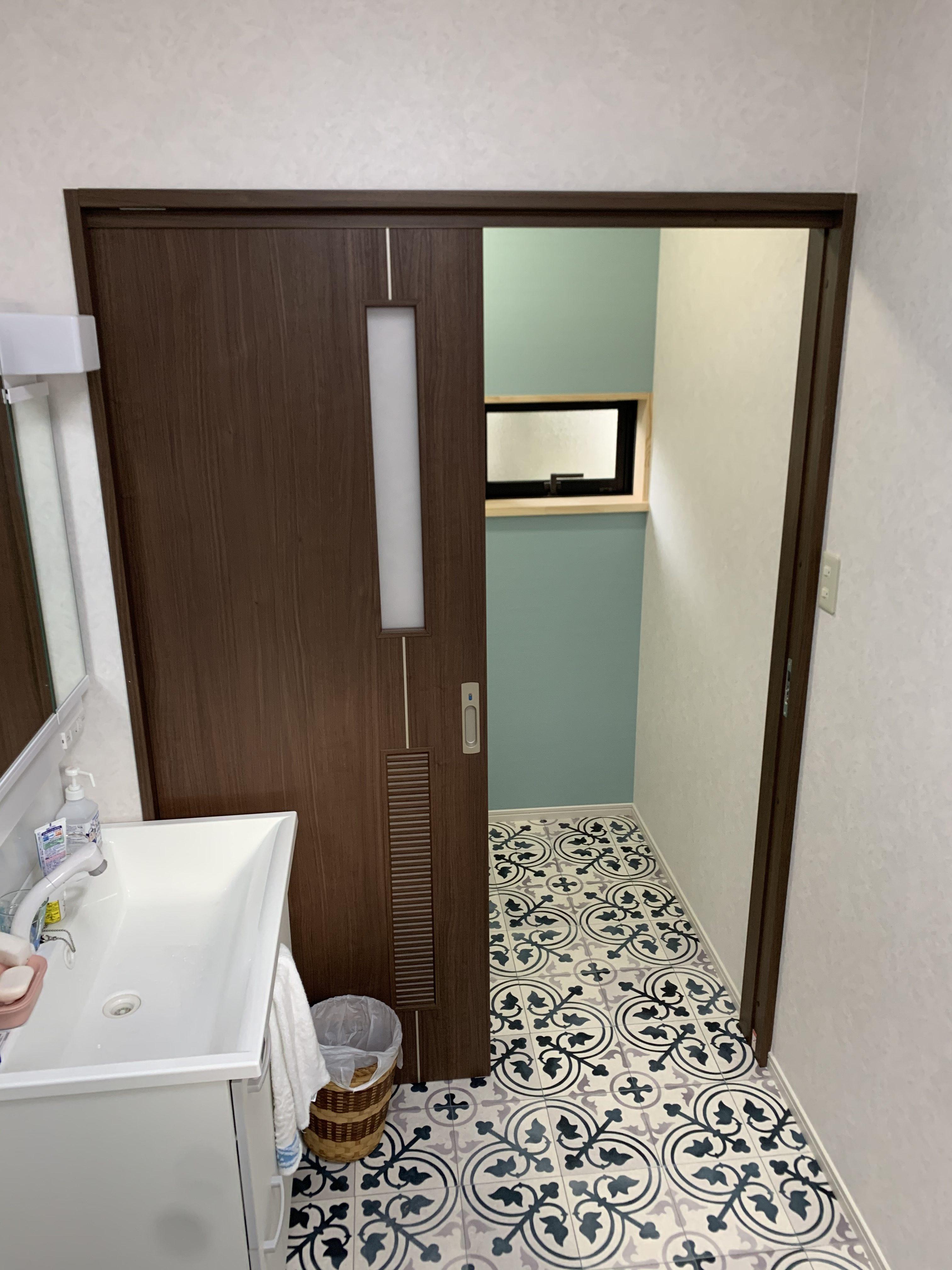 内装:壁クロス・床クッションフロア、 洗面:クリナップ薄型BGA