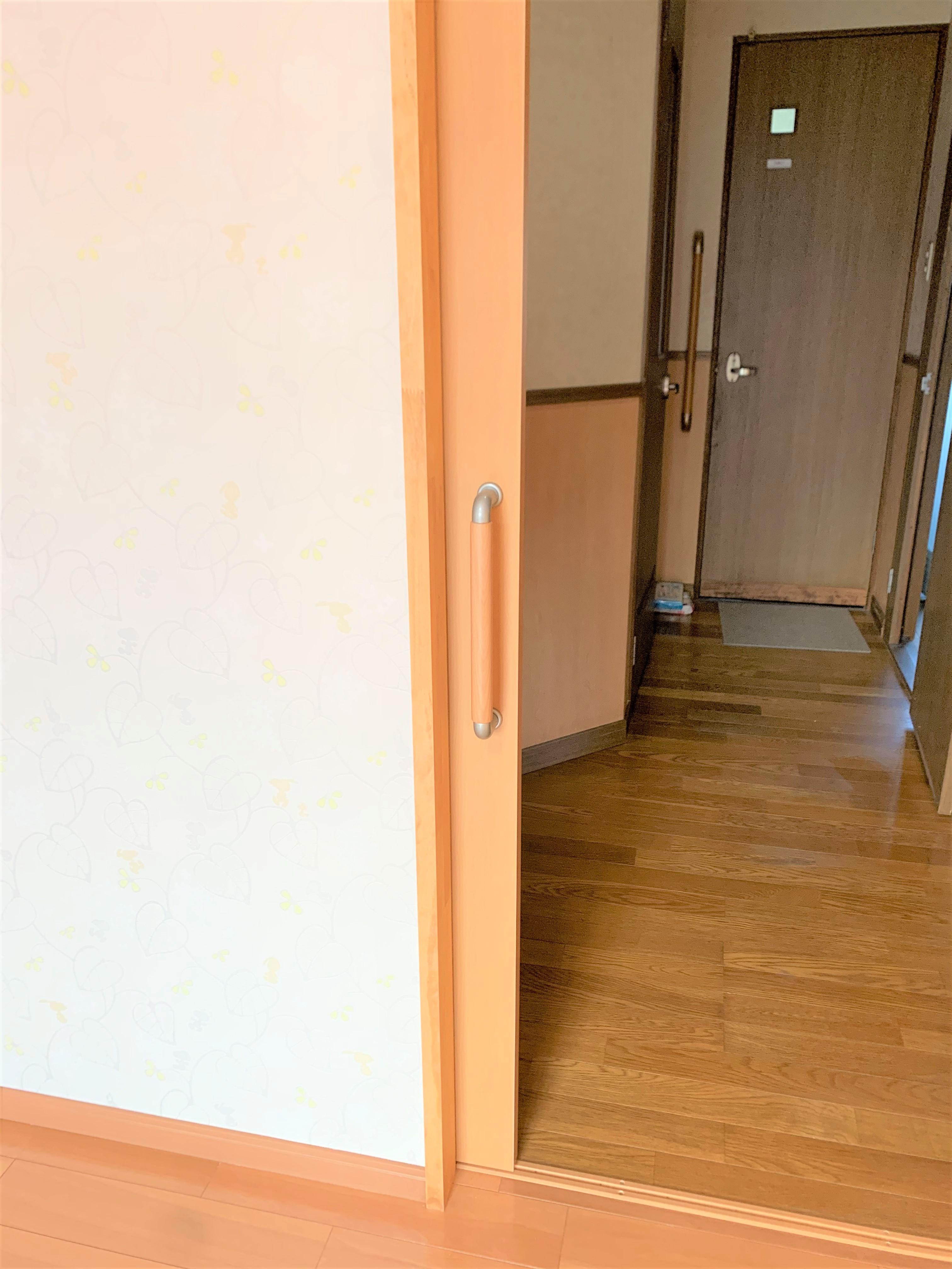 施工内容:寝室からトイレまでの段差解消