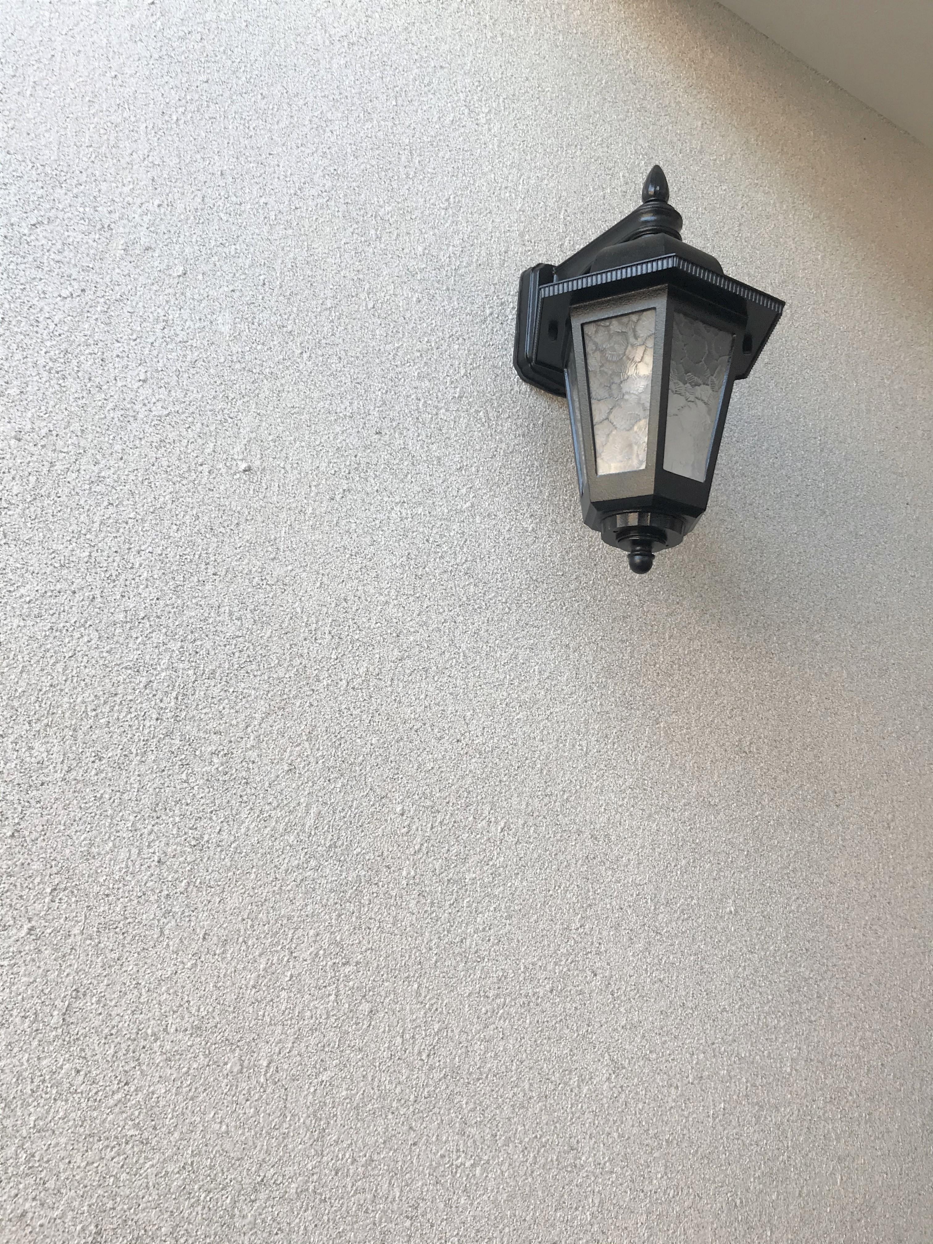 玄関廻り:アステックペイント製 グラナートSP
