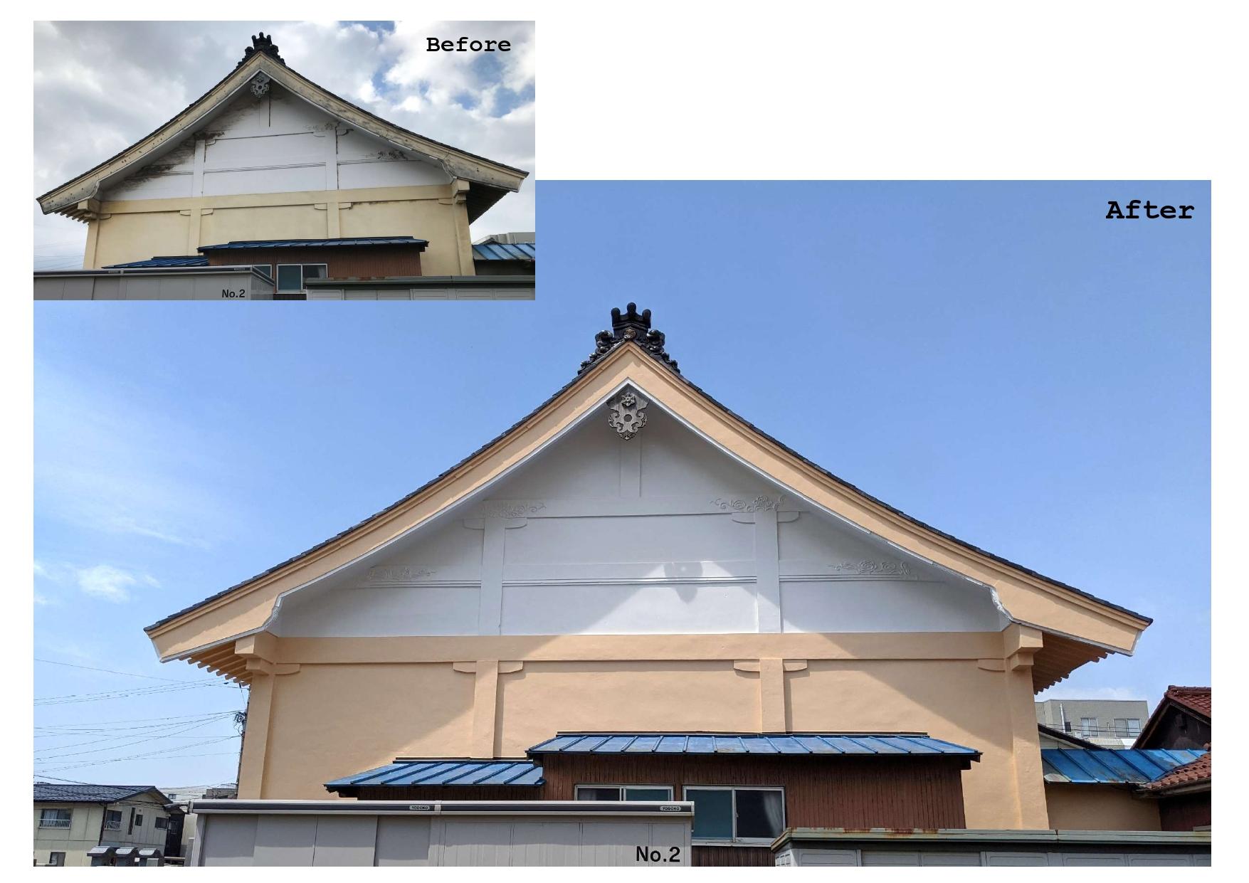 汚れが付着しにくく、建物を長期にわたり保護します